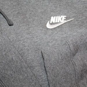 Nike Shirts - sold NEW Nike Full Zip Gray Performance Hoodie XXL